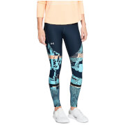 Under Armour Women's Vanish Printed Leggings - Black/Blue