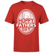 Hoppy Fathers Day Men's T-Shirt - Red