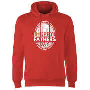 Sweat à Capuche Homme Hoppy Fathers Day - Rouge
