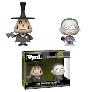 Disney The Nightmare Before Christmas Mayor and Barrel Vynl.