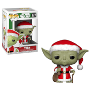 Figurine Pop! Yoda Père Noël - Star Wars Holiday