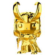 Marvel MS 10 Loki Gold Chrome Funko Pop! Vinyl
