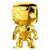 Marvel MS 10 Iron Man Gold Chrome Pop! Vinyl Figure
