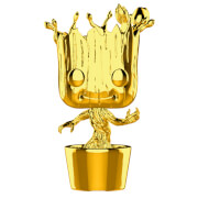 Marvel MS 10 Groot Gold Chrome Funko Pop! Vinyl