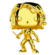 Marvel MS 10 Black Widow Gold Chrome Pop! Vinyl Figure