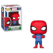 Figurines Pop ! Spider-Man et Pull Moche Marvel Noël