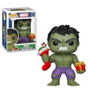 Marvel Holiday - Hulk with Stocking & Present Pop! Vinyl Figure