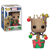 Figurines Pop ! Groot Avec Décorations Marvel Noël