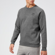 Under Armour Men's Rival Fleece Crew Neck Sweatshirt - Charcoal Light Heather/Black