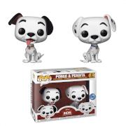 PIAB EXC Disney 101 Dalmatians Pongo & Perdita Pop! Vinyl Figures 2 Pack