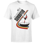T-Shirt Homme Subbuteo TABLE SOCCER 45 - Blanc