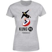 T-Shirt Femme Subbuteo Kung Fu - Gris