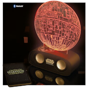 Star Wars Death Star Light and Sound Reactive Bluetooth Speaker