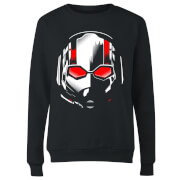 Ant-Man And The Wasp Scott Mask Women's Sweatshirt - Black