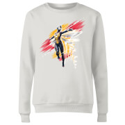 Ant-Man And The Wasp Brushed Women's Sweatshirt - White