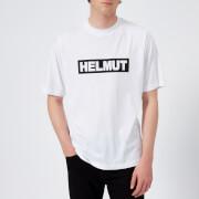 Helmut Lang Men's Helmut Box Logo T-Shirt - White