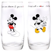 Mickey Mouse Glasses Set of 2