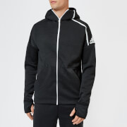 adidas Men's ZNE Full Zip Hoody - Black