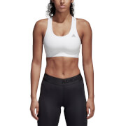adidas Women's Climacool Sports Bra - White