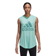 adidas Women's Winners Tank Top - Clear Mint