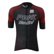 PBK Santini 19 Rider Race Jersey - Black/Red