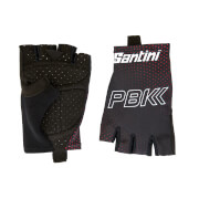 PBK Santini 19 Race Gloves - Black/Red