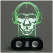 Sound Reactive Speaker - Skull