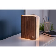 Gingko Large Smart Book Light - Walnut