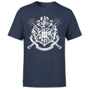 Harry Potter Hogwarts House Crest Herren T-Shirt - Navy Blau
