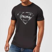 DC Originals Marble Superman Logo Men's T-Shirt - Black