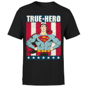 DC Originals Superman True Hero Men's T-Shirt - Black
