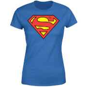 DC Originals Official Superman Shield Women's T-Shirt - Royal Blue