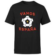 T-Shirt Homme Vamos España Football - Noir