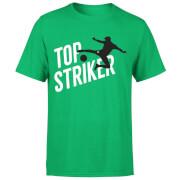 T-Shirt Homme Meilleur Buteur Football - Vert Foncé
