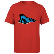 T-Shirt Homme Fanion Équipe De France Football - Rouge