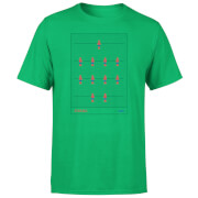 T-Shirt Homme Équipe de Baby Foot Espagne Football - Vert Foncé