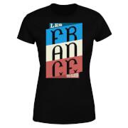T-Shirt Femme Les Tricolores Football - Noir