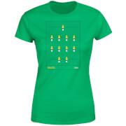 T-Shirt Femme Équipe de Baby Foot Brésil Football - Vert Foncé
