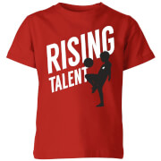 T-Shirt Enfant Rising Talent Football - Rouge