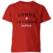 T-Shirt Enfant Somos Leyenda - Rouge