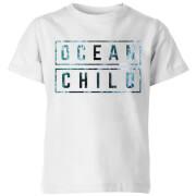 My Little Rascal Ocean Child Kids' T-Shirt - White