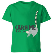 My Little Rascal Catch Me If You Can Kids' T-Shirt - Kelly Green