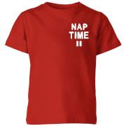 My Little Rascal Nap Time Kids' T-Shirt - Red