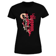 Marvel Deadpool Lady Deadpool Women's T-Shirt - Black