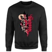 Marvel Deadpool Lady Deadpool Sweatshirt - Black