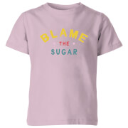 My Little Rascal Blame The Sugar - Baby Pink Kids' T-Shirt