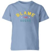 My Little Rascal Blame The Sugar - Baby Blue Kids' T-Shirt