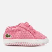 Lacoste Babies' L.12.12 Crib 318 1 Trainers - Pink/White