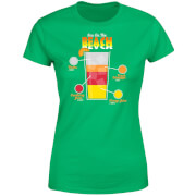 Infographic Sex On The Beach Women's T-Shirt - Kelly Green