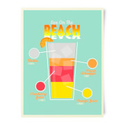 Sex On The Beach Art Print